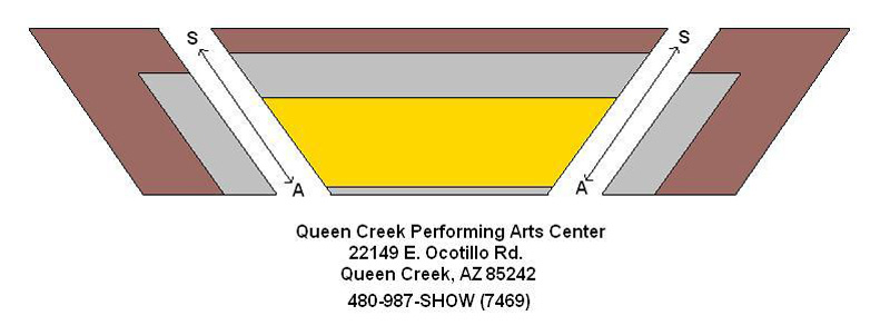 Queen Creek Performing Arts Center Seating Chart
